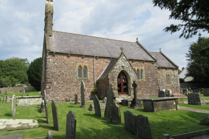St George's Church, Reynoldston, Gower Peninsula, Swansea