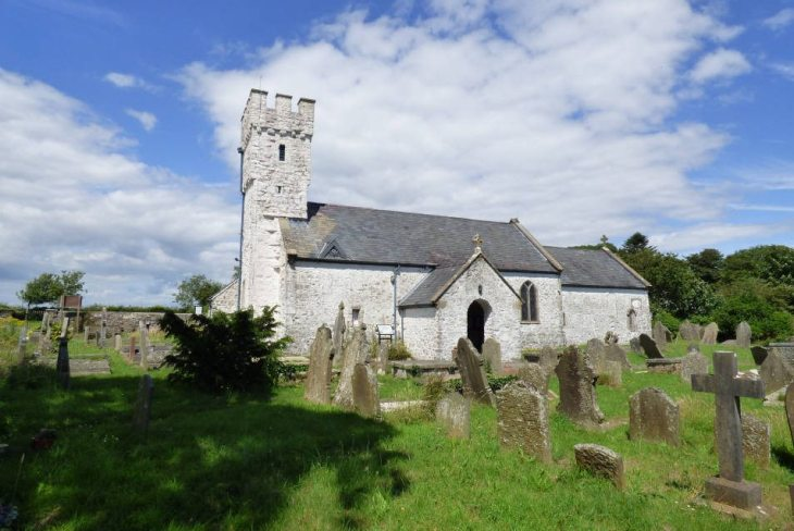 St Mary's Church, Pennard, The Gower Peninsula, Swansea