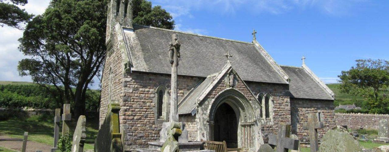St Nicholas' Church, Nicholaston, The Gower Peninsula, Swansea