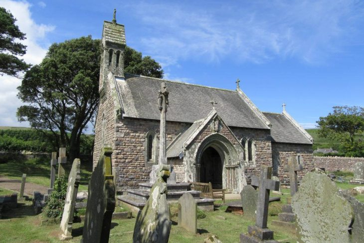 St Nicholas' Church, Nicholaston, The Gower Peninsula, Swansea