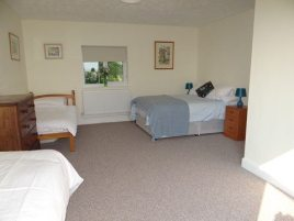 The downstairs family room at Sunnyside holiday cottage, Rhossili, Gower