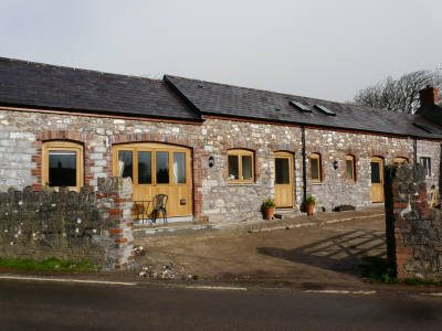 The Old Byre self-catering barn conversion Middleton, Rhossilli, Gower