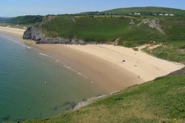 Tor Bay on the Gower Peninsula