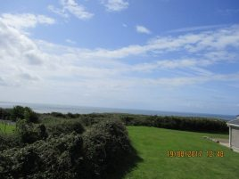 The view from Creek Cottage, Rhossili