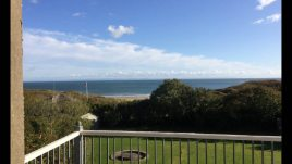 The view from The Hollies self-catering accommodation, Horton, Gower Peninsula