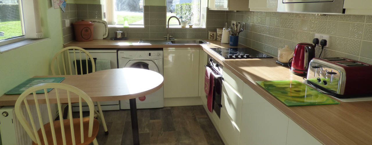Kitchen at Gower Holiday Cottages, Murton, Gower
