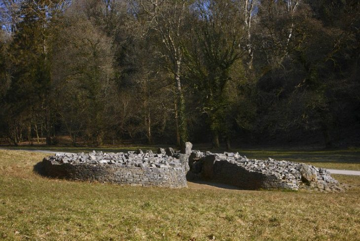 Parc le Breos Burial Chamber at Parkmill, Gower Peninsula, near Swansea