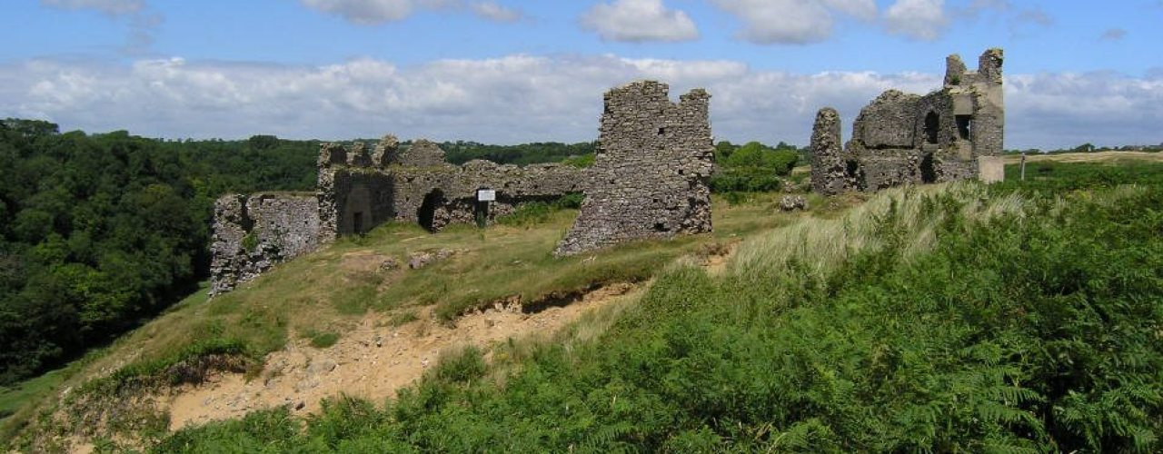 Pennard Castle, Gower Peninsula, South Wales