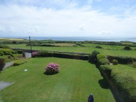 The view from the en-suite bedroom at Faircroft, Rhossili