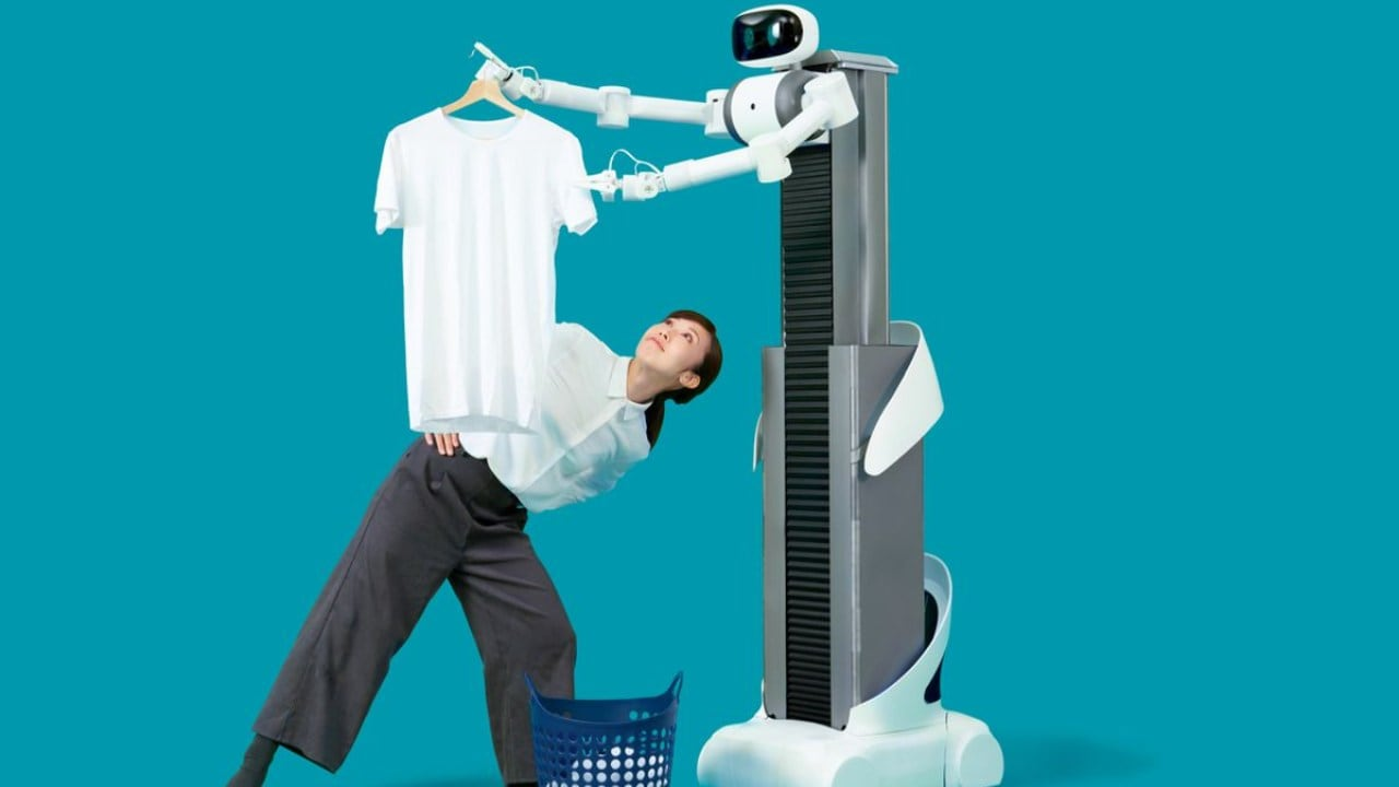 Robot developed to aide Japan's aging workforce makes itself useful in fight against coronavirus