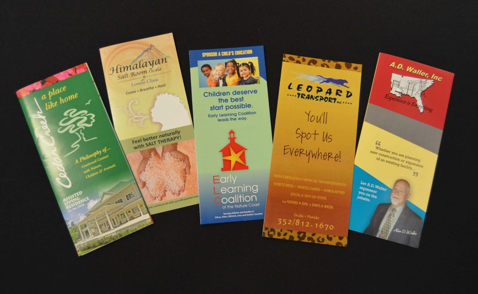 Brochures done by BS