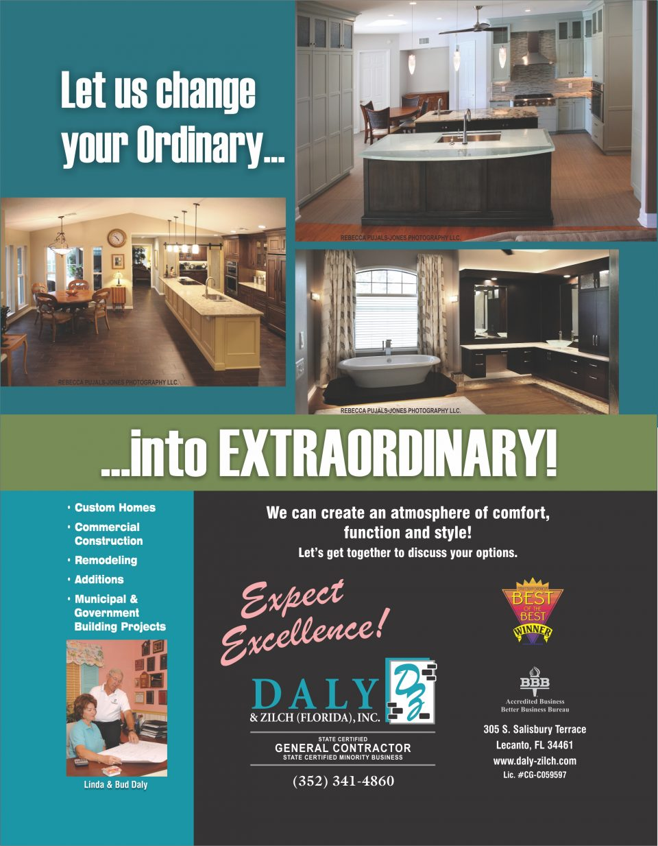 Daly & Zilch Remodel Ad