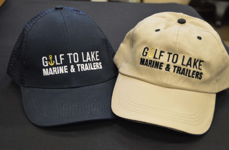 Embroidered Hats for Gulf To Lake