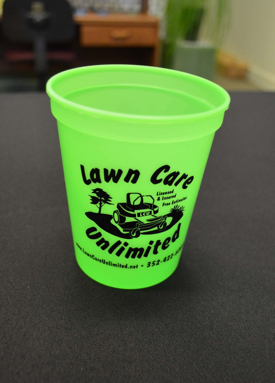 Lawn Care Cup Promotional Item