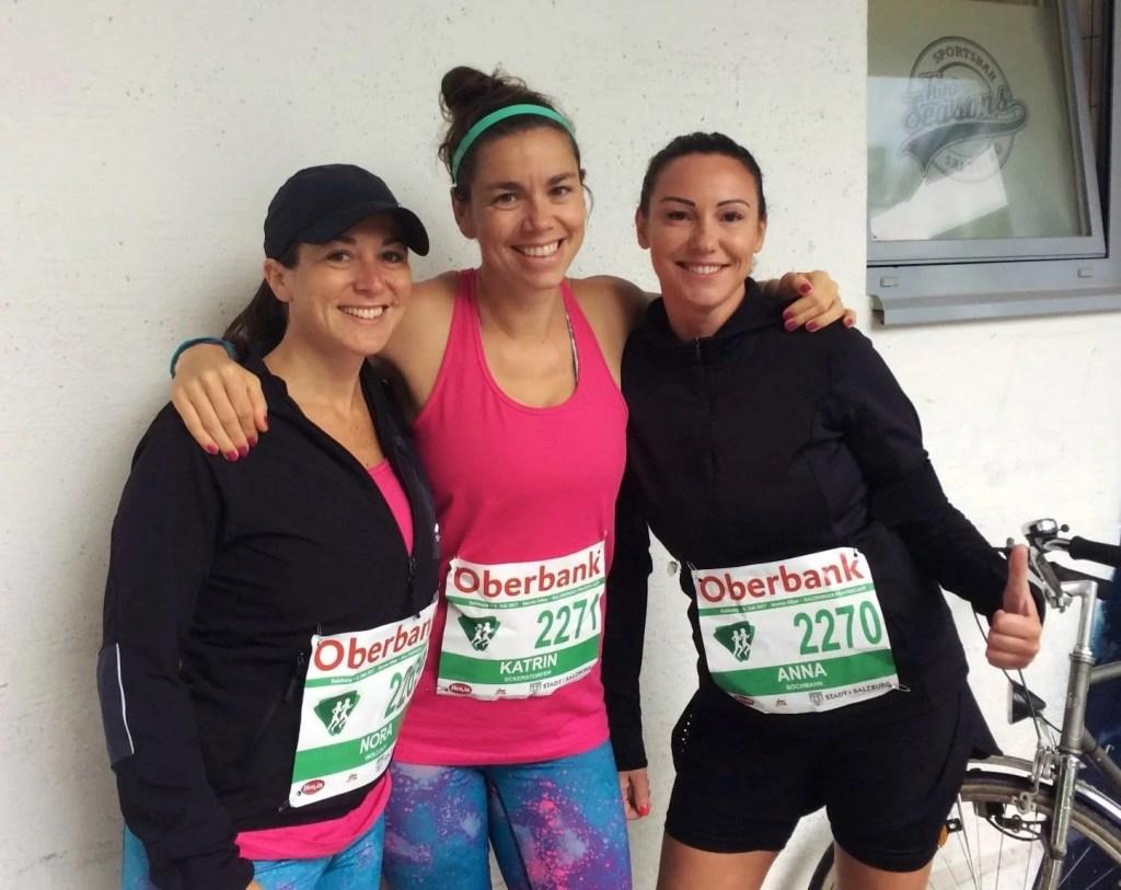 Salzburger Frauenlauf Team GoWithTheFlo