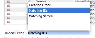 RefreshFM : The import order options we should have