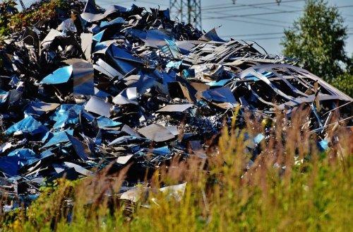 vertido de residuos