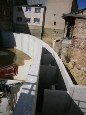 Vue des bassins