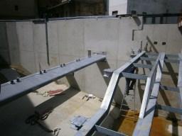 Equipements métallique pour le plan de grille et la goulotte