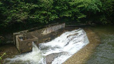 Etat initial du barrage