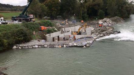 Construction passe à embarcations