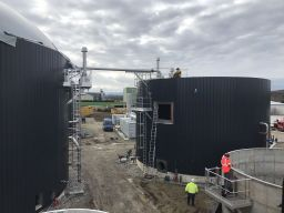 Equipements des silos