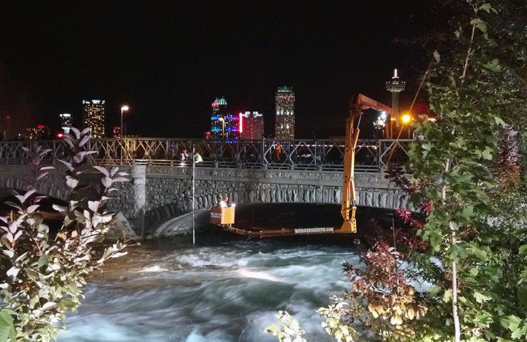 American Falls Bridges