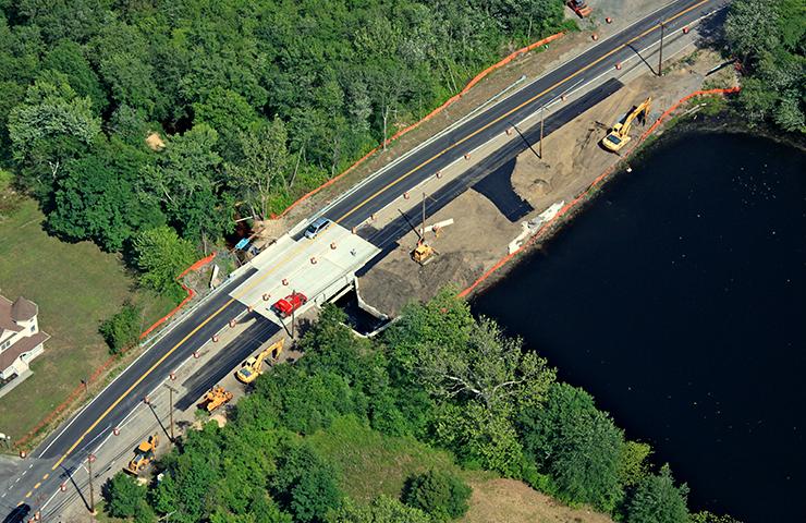 Bridge Replacement at Rova Farms Bridge/Cassville Lake Dam