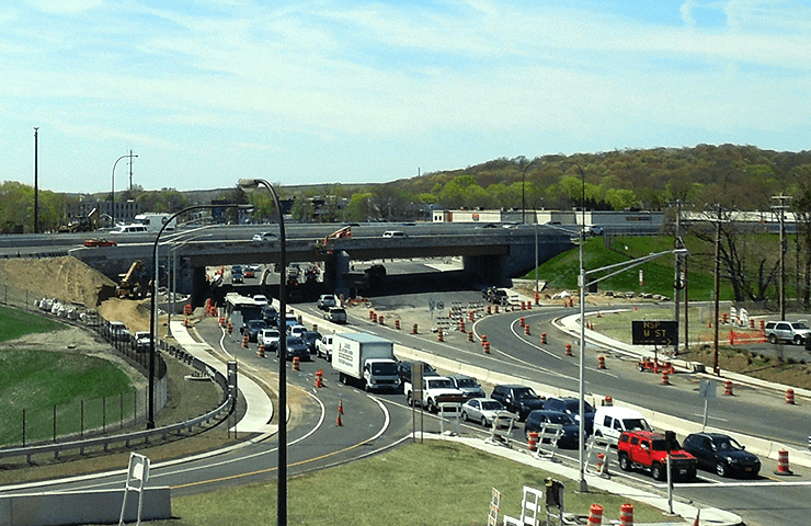 Northern State Parkway-Route 110 Interchange