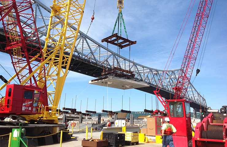The New NY Bridge (Tappan Zee) D-B Replacement