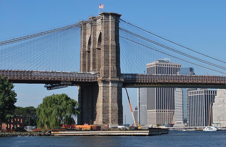 Brooklyn Bridge Rehabilitation and Coatings