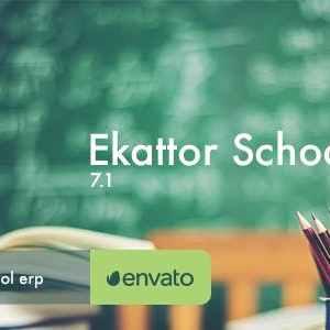 Ekattor 7.1 – School Management System