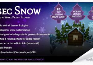 5sec Snow 1.70 – Christmas Joy Generator