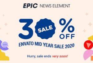 Epic News Elements Plugin 2.2.7