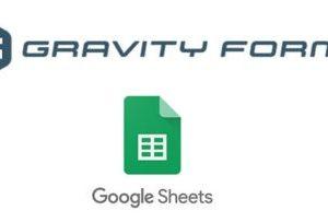 Gravity Forms Google Spreadsheet Add-On 3.5