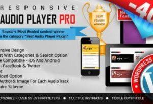 HTML5 Audio Player PRO 2.8.0