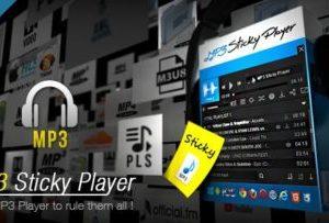 MP3 Sticky Player WordPress Plugin 5.8