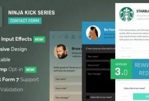 Ninja Kick 3.5.6 – WordPress Contact Form