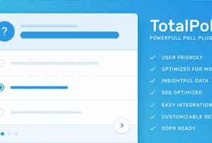 TotalPoll Pro 4.3.2 – Responsive Poll Plugin