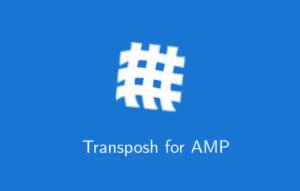Transposh for AMP 1.0