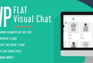 WP Flat Visual Chat Plugin 5.391
