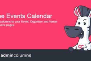 Admin Columns Pro Events Calendar Add-On 1.5