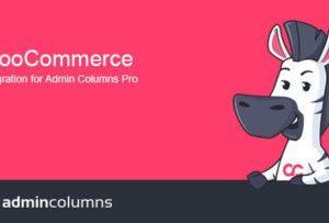 Admin Columns Pro WooCommerce Add-on 3.5.5