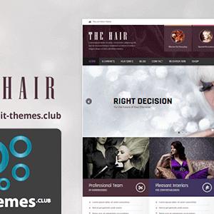 AIT Hair WordPress Theme 2.0.6