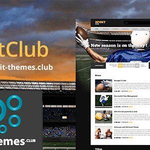 AIT SportClub WordPress Theme 2.0.4