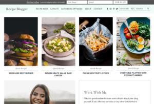 Studiopress Recipe Blogger WordPress Theme 1.2.0