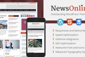 MyThemeShop NewsOnline WordPress Theme 1.2.5