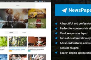 MyThemeShop Newspaper WordPress Theme 2.3.9