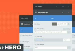 CSS Hero Pro 4.20 – Customize your Website