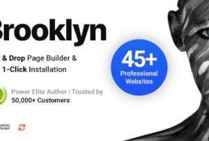 Brooklyn Creative WordPress Theme 4.9.6.7